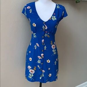 Aeropostale corset back button up sun dress